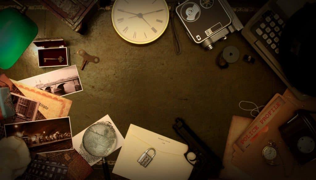 escape room mit Schlüssel und Rätseln